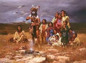 Modlitba severoamerických Indiánů