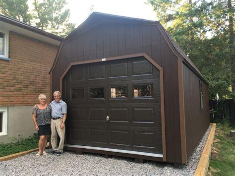 garage pre built  delivered fully assembled