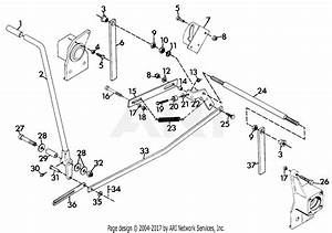 Gravely 43780 16hp  With Hydraulic Lift Parts Diagram For