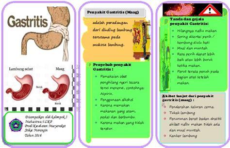 leaflet gastritis  maag