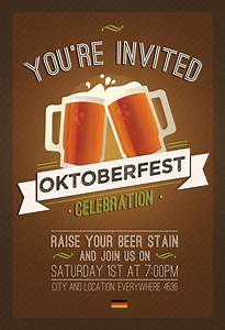 Flyer template, Oktoberfest and Flyers on Pinterest