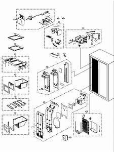 Samsung Rsh1dtmh Fridge    Freezer Parts