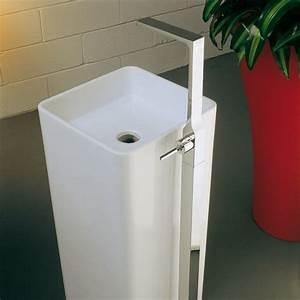Mitigeur Sur Pied : robinet mitigeur lavabo sur pied waterblade j ~ Edinachiropracticcenter.com Idées de Décoration