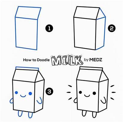 Doodles Doodle Easy Draw Simple Milk Carton