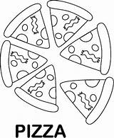 Coloring Pizza Foods Sheet Favorite Pyramid Clipart Printable Sheets Healthy Slice Preschool Clip Preschoolers Steve Printables Hubpages Pie Library Whole sketch template