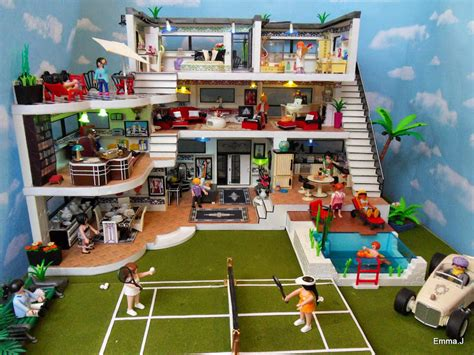tapis de jeu playmobil deco house 5574 j s playmobil
