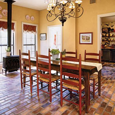 Dining Room Decorating Ideas Set The Tone With Flooring
