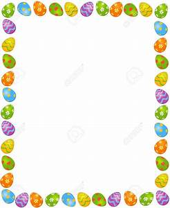 Easter Egg Border Clip Art – Merry Christmas And Happy New