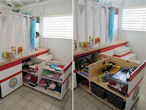 astuce rangement chambre bebe visuel 4 With astuce de rangement chambre