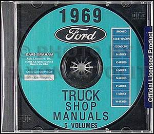 1969 Ford F100 F250 F350 Pickup Truck Owner U0026 39 S Manual Reprint