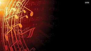 Red Music Note Wallpaper - WallpaperSafari