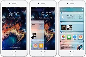 iOS 10 preview: your new Lock screen with Raise to Wake ...