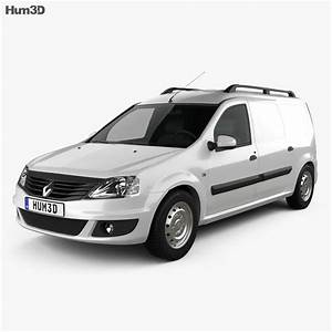 Renault Logan Van 2011 3d Model