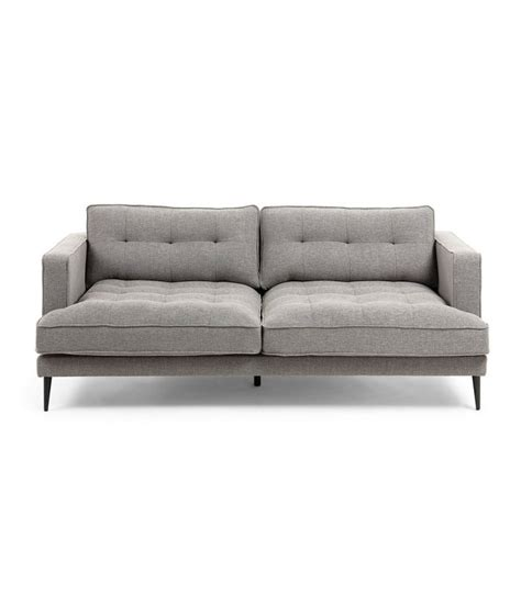 sofa 3 plazas desenfundable sof 225 3 plazas gris claro desenfundable con patas de metal