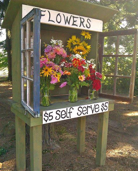 flower stands ideas  pinterest farm stand