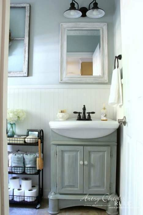 the best coastal blue paint colors for the bathroom green with decor