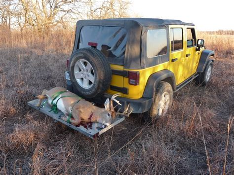 hunting jeep cherokee deer hunting with a jeep jk forum com the top