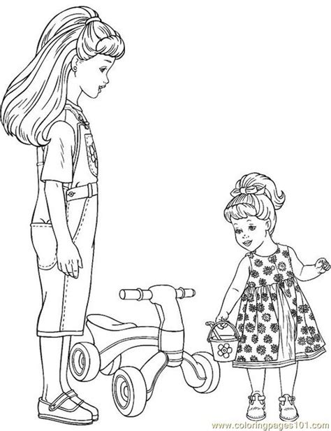 barbie  coloring page  barbie coloring pages