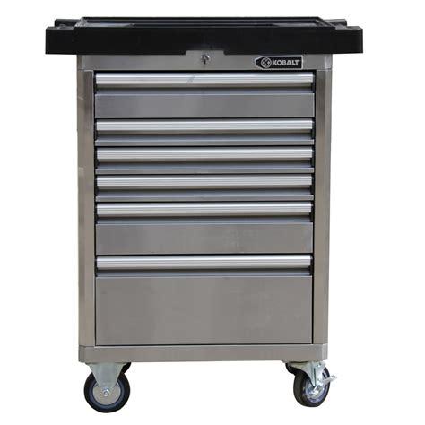 Kobalt Storage Cabinet Casters by Shop Kobalt 40 In X 33 4 In 6 Drawer Bearing Tool