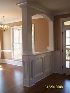 Trim interior columns interior woodworks inc for Decorative interior wall columns