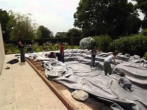 construction bassin de jardin avec cascade YouTube