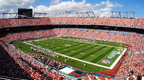 hard rock stadium seating chart pictures directions  history miami dolphins espn