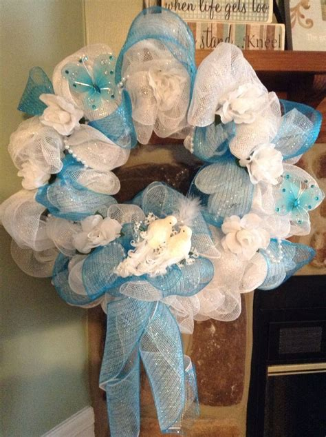 1000 Images About Diy Bridal Shower And Wedding Wreaths On