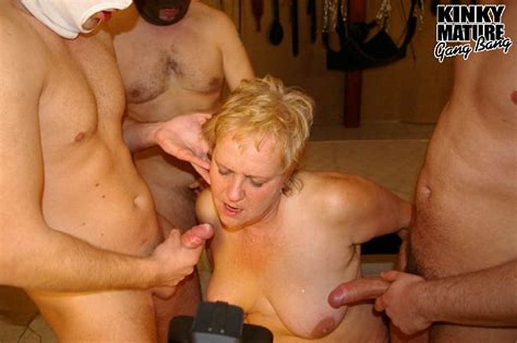 #Thats #One #Horny #Kinky #Mature #Gang #Bang
