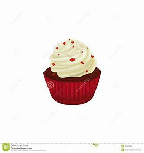 Sponge Cake clipart red velvet cupcake - Pencil and in ...