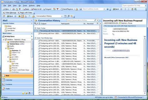 Office Outlook by How Microsoft Office Communicator Enhances Outlook 2007