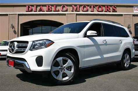 17 city / 22 hwy. 2018 Mercedes-Benz GLS-Class GLS 450 4MATIC AWD for Sale in Stockton, CA - CarGurus