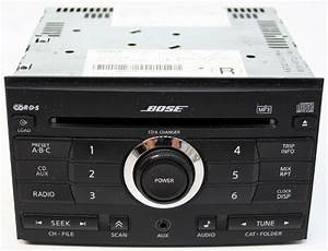 Nissan Maxima 2007 Factory Stereo Bose 6 Disc Changer Mp3