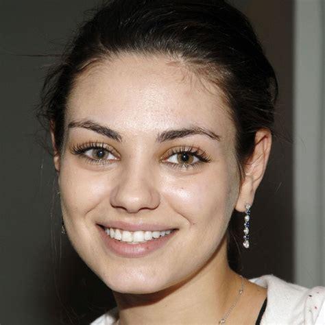 Mila Kunis No Makeup 9 Photos Of Mila Kunis Without