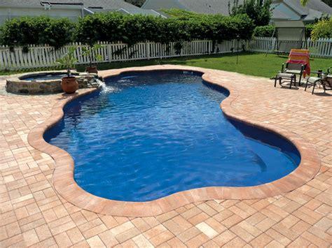 fiberglass pool designs fiberglass inground pools munie leisure canter
