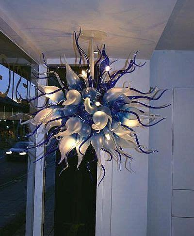 glass sculpture chandelier blown glass lighting crafty blown glass chandelier