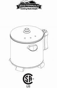 Masterbuilt Fryer 20010106 User Guide