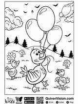 Quiver Eend Duck Ente Kleurplaat Coloring Ausmalbilder Stemmen Kalender Erstellen sketch template