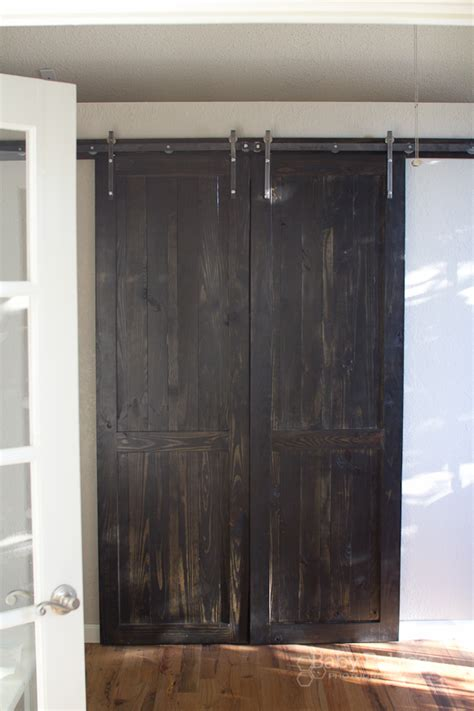how to make a sliding barn door how to build barn doors