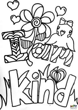 random acts  kindness coloring pages coloring pages