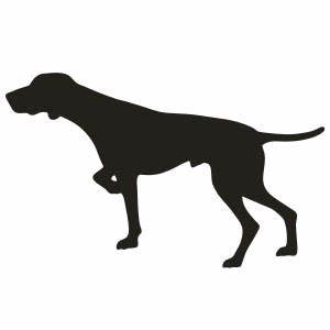 German Shorthaired Pointer Dog Vinyl Decal Sticker 2