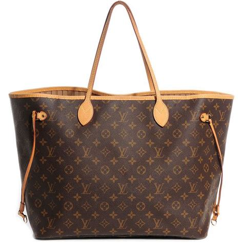 louis vuitton monogram neverfull gm   polyvore