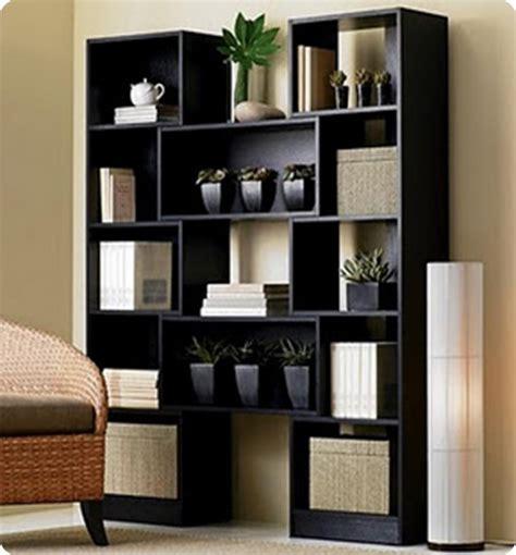 Modern Black Bookshelf