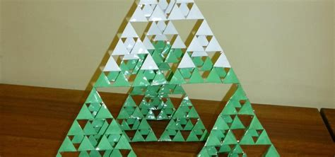 sierpinski christmas tree 171 math craft