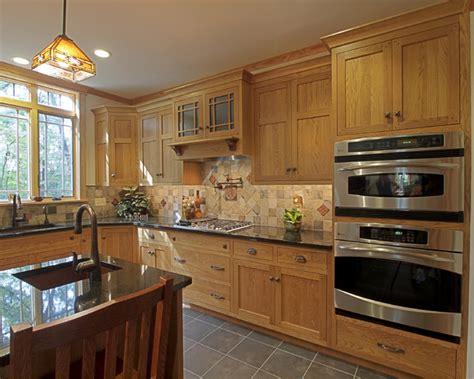 farmhouse  craftsman influences craftsman kitchen