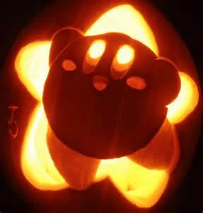Easy Shark Pumpkin Stencil by Halloween Special Nintendo Pumpkins