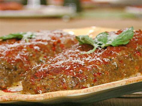 italian meatloaf recipe michael chiarello food network