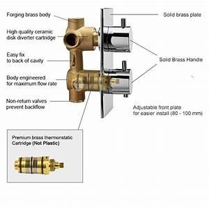 55 Shower Mixing Valve Diagram  Moen Shower Control Valve