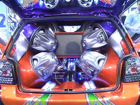 cars showroom car audio system