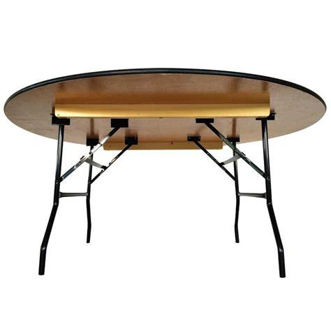 tables pliantes en bois ronde mobeventpro