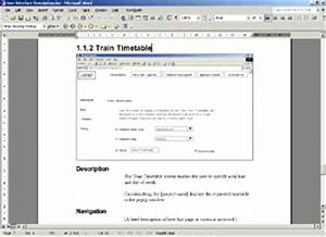 documenting a user interface information design With interface design document template